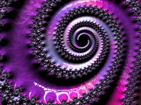 fractal pink: Modern abstract energetic wallpaper   background