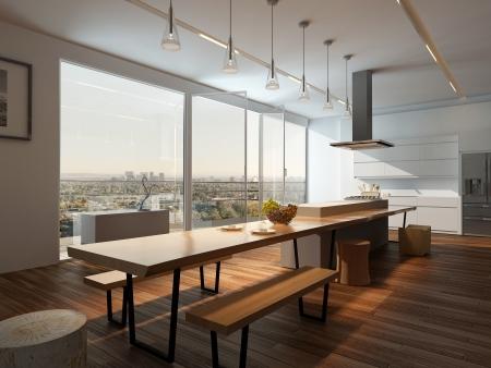 interior designer: Modern kitchen interior