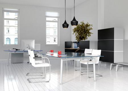 modern interieur: Plaatje van Kantoor interieur en Vergaderzaal