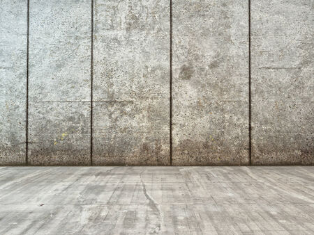 worn structure: Image of grunge decor interior with concrete wall