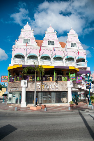Picture of Aruba (Caribbean) - House exteriors at Oranjestad