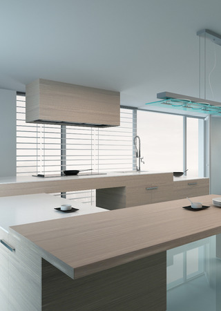 Modern design kitchen interior photo