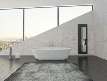 modern interieur: Modern design badkamer interieur Stockfoto