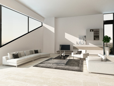 decoration design: Moderno dise�o de interiores sala de estar