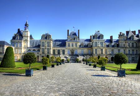 Chateau de Fontainebleau, France Editorial