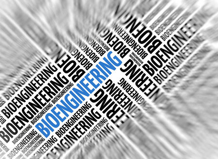 bioengineering: Marketing background - BIOENGINEERING - blur and focus Stock Photo