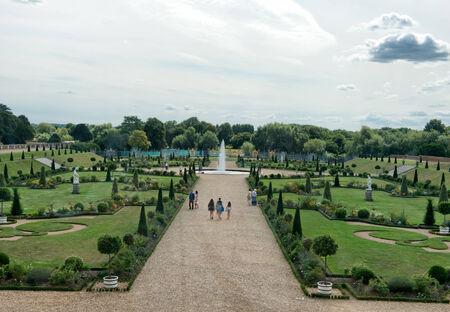 privy: Privy Garden at Hampton Court Palace near London, UK Editorial