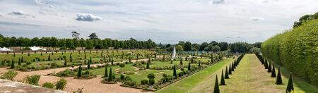 privy: The famouns Privy Gardens at Hampton Court Palace near London, UK
