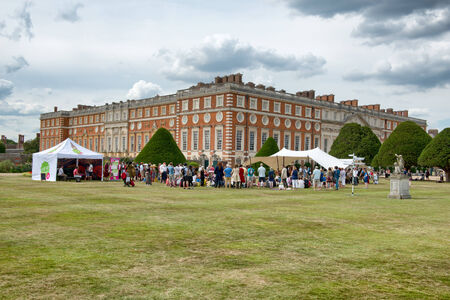 viii: Family Activity Festival at Hampton Court Palace, UK
