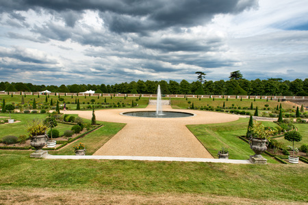 viii: The Privy Garden at Hampton Court Palace near London, UK