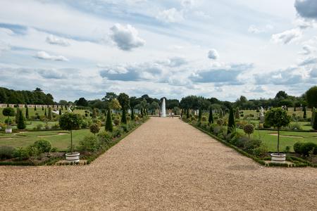 privy: The Privy Garden at Hampton Court Palace near London, UK