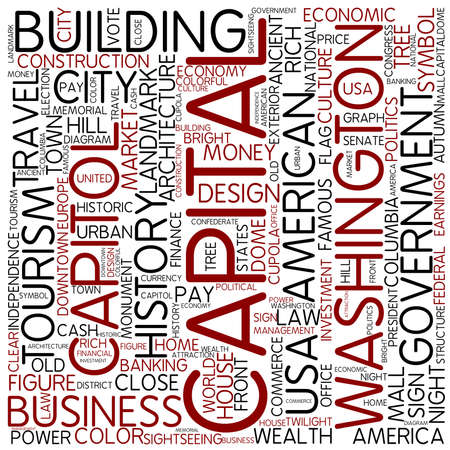 federal district: Word cloud - capital