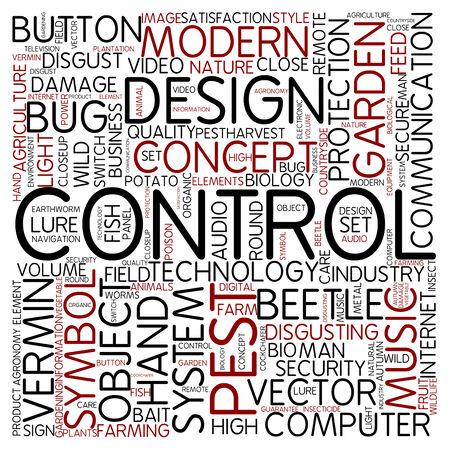 disgusting: Word cloud - control