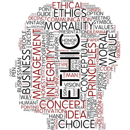 Word cloud - ethic photo