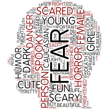 fear: Word cloud - fear