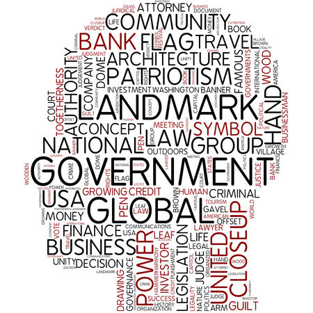 Word cloud - government photo