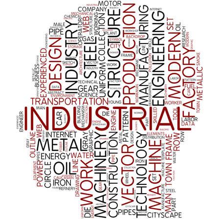 Word cloud - industrial photo