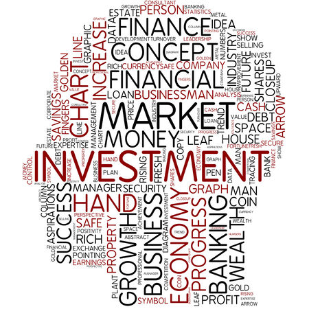 Word cloud - investment photo