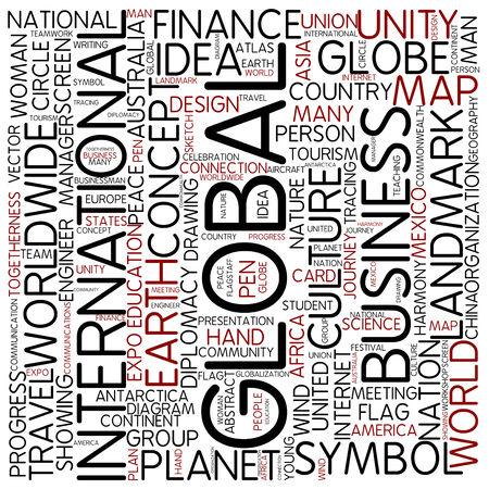 focus group: Word cloud - international