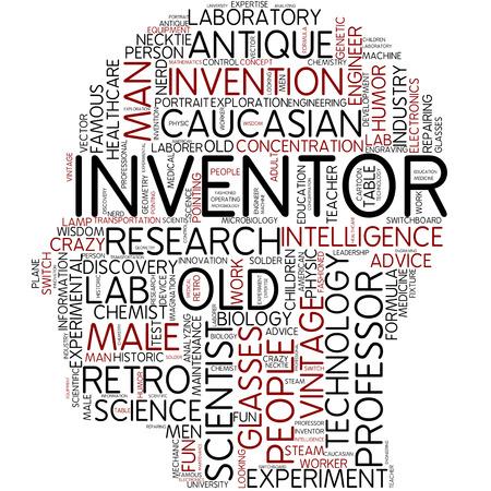 uitvinder: Word cloud - uitvinder