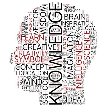 Word cloud - knowledge photo