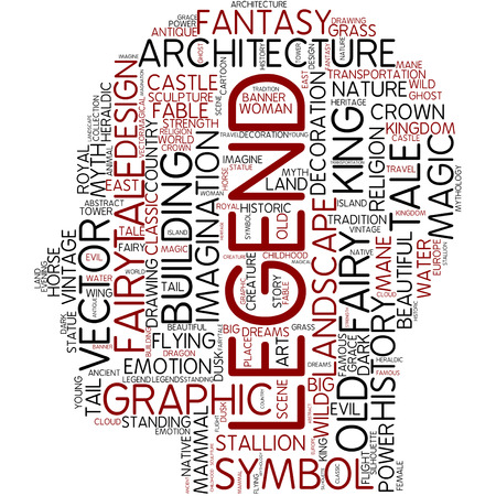 legend: Word cloud - legend