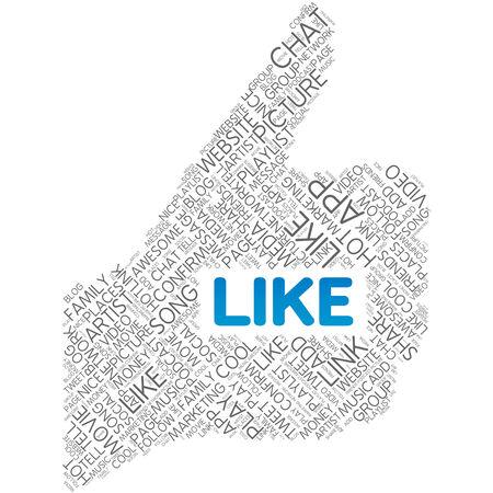 Social Media Like photo