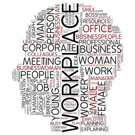 Word cloud - workplace photo