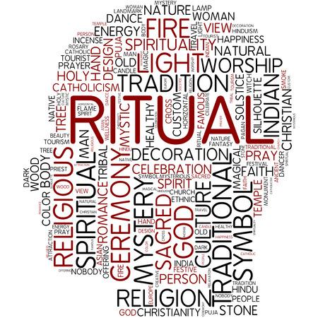 Word cloud - ritual photo
