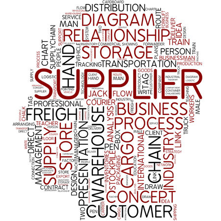 Word cloud - supplier photo