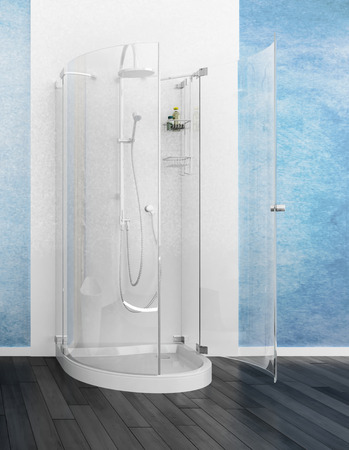 cubicle: Modern shower cubicle