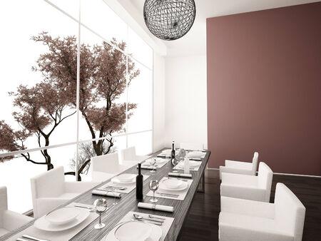 Moderní jídelna