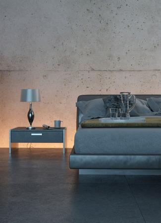 modern living room: A modern living room