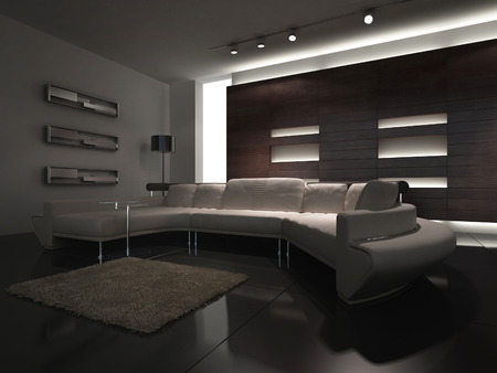 A modern living room photo