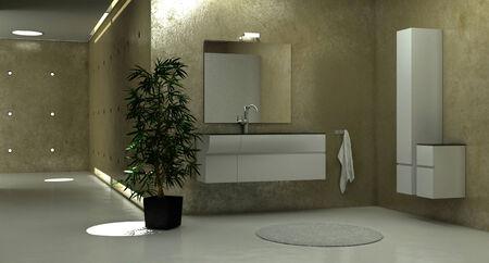 bathroom design: Modern bathtub interior