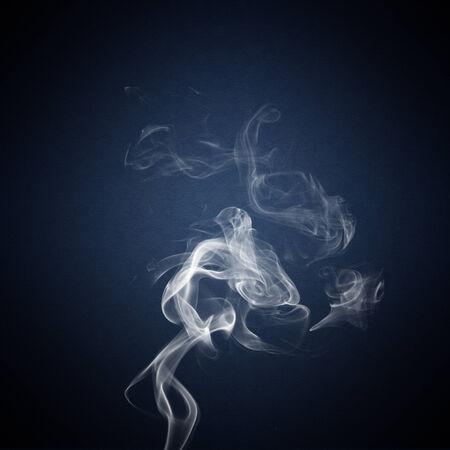 wisp: A wisp of smoke Stock Photo