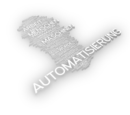 emigrant: Word cloud of automation in German language