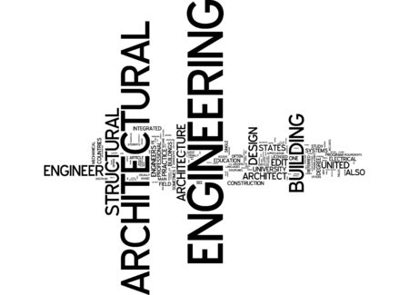structural: Word cloud of Engineering in English language Stock Photo