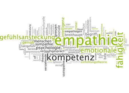 empathy: Word cloud - empathy Stock Photo