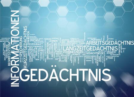 declarative: Parola nube di memoria in lingua tedesca
