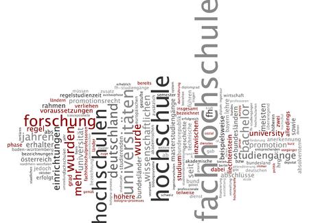 拡大: ドイツ語の拡大の単語雲 写真素材