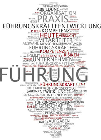 stakeholder: Word cloud of guide in German language