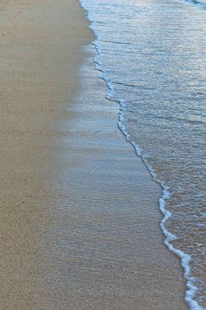 ebb: Szczegóły Wodnej Spotkania piasku na plaży w Tide przypływy i odpływy