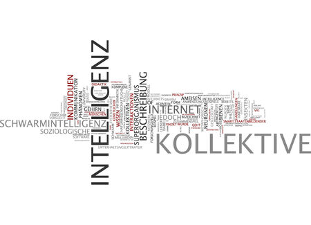 interactions: Word cloud of collective intelligence in German language