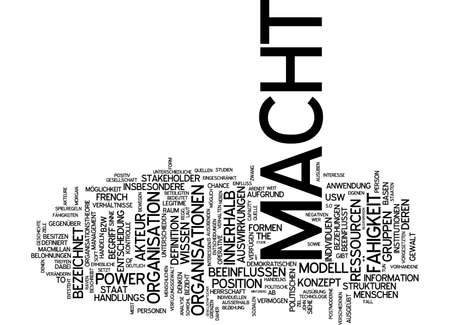 makes: Word cloud of makes in German language Stock Photo