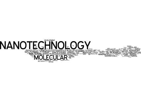 nanotubes: Word cloud of nanotechnology in German language