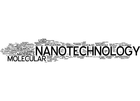 Word cloud of nanotechnology in German language