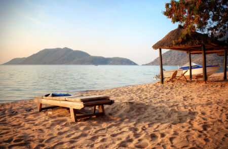 malawi: View of the beach in Malawi