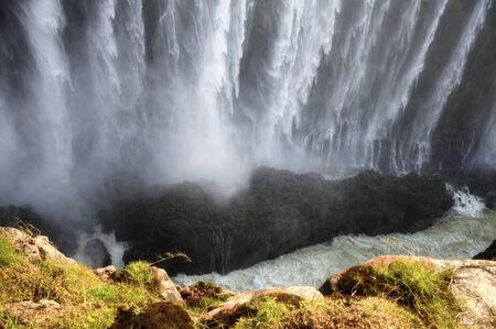 Victoria Falls in Zimbabwe, Africa photo