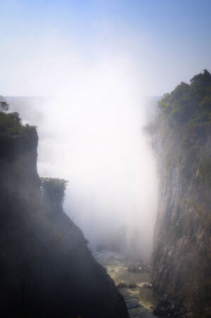 Victoria Falls in Zimbabwe, Africa photo